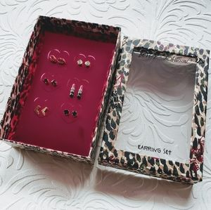 Betsey Johnson Girl Boss Stud Set